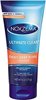 Noxzema Ultimate Clear Daily Deep Pore Cleanser 6 Oz (Pack of 2)