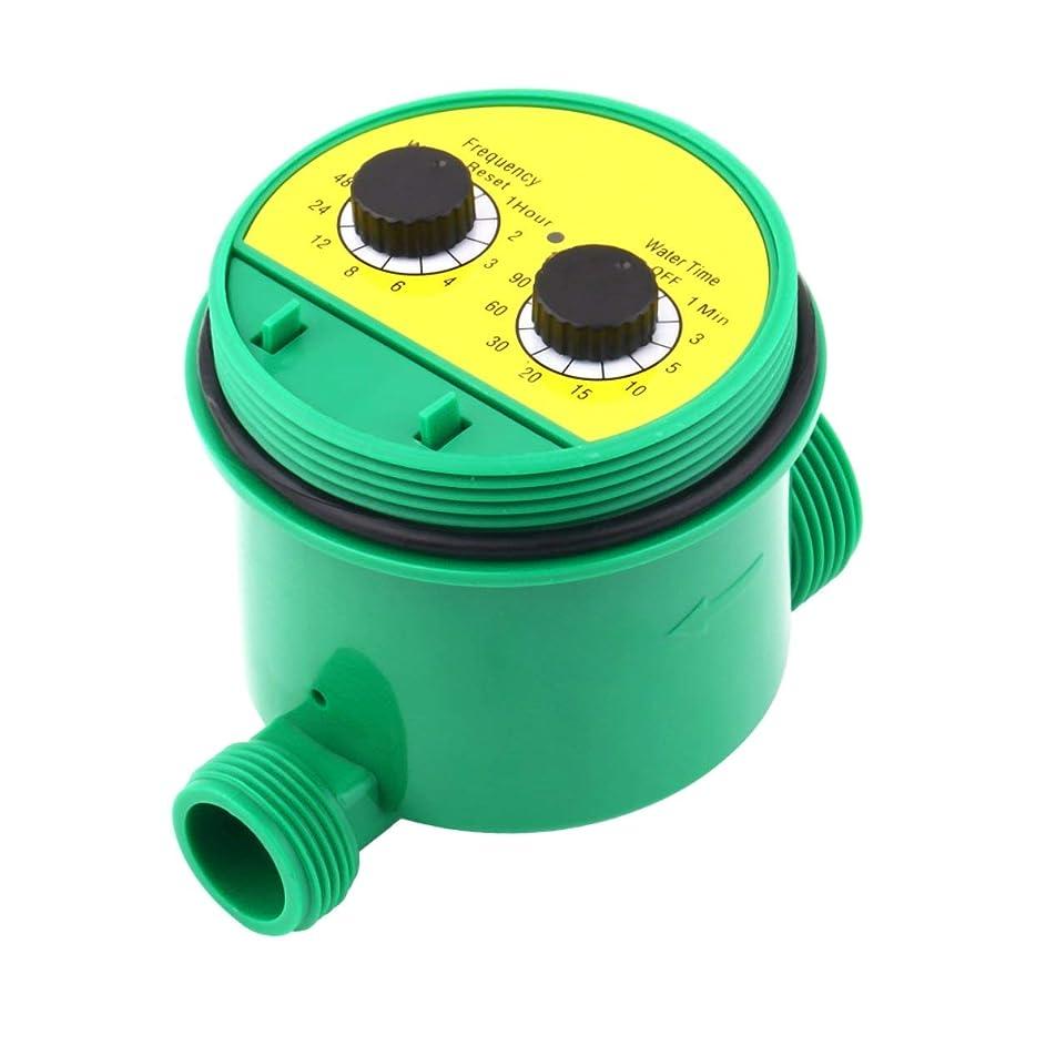 消す舌なメナジェリーSaikogoods グリーン英語版 LCDホームデジタル電子知能水タイマー ガーデン灌漑コントローラ