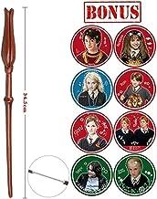 KEHUITONG Metal/núcleo de Hierro Harry Serie mágica mágica varitas/Magia Sticks/Personajes Que juegan Etiquetas engomadas Elegantes Regalos Dumbledore Viejo Wand (Color : Luna Lovegood)