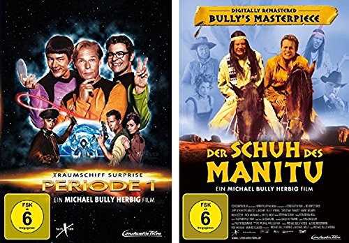 Michael Bully Herbig 2 DVD-Set (Der Schuh des Manitu + (T)Raumschiff Surprise) - Deutsche Originalware [2 DVDs]