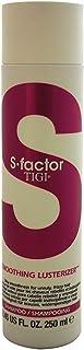 TIGI S-Factor Smoothing Lusterizer Shampoo for Unisex 8.45 oz Shampoo