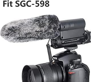Outdoor Microphone Furry Windscreen Muff for TAKSTAR SGC-598