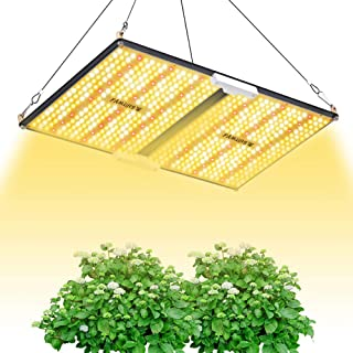 LED Grow Light,FAMURS T-Sun Series 2000W Grow Lights Full Spectrum with SANAN LP2235 Diodes and UL Listed Driver Sunlight Silent Grow lamp with Switch for Indoor Plants Veg and Bloom Greenhouse 4x4ft