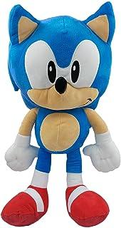 Sonic The Hedgehog - Sega- Peluche Sonic - Medidas 45 cm - Color Azul