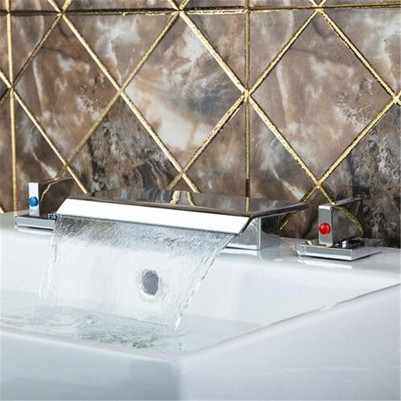 Waschtisch Armatur Badarmatur Küchenarmaturhot Cold Badewanne Wasserfall Deck Montiert Dusche Bad Becken Waschbecken Messing Mischbatterie Wasserhahn