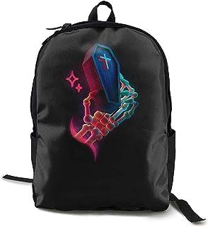 Kimi-Shop School Backpack Skeleton 3D Adult Outdoor Leisure Mochila Deportiva