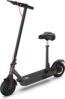 """Hiboy S2 Pro Electric Scooter with Seat - 500W Motor - 10"""" Solid Tires - 25 Miles Long-Range & 19 Mph Folding Commuter Ele..."""