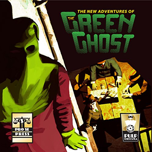 The New Adventures of the Green Ghost audiobook cover art