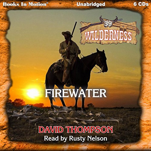 Firewater audiobook cover art