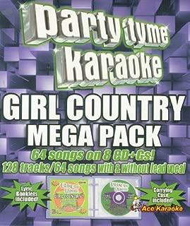 Party Tyme Karaoke CDG - Girl Country Mega Pack