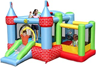 Happy Hop Inflatable Bouncy Castle With Farmyard Ball Pit
