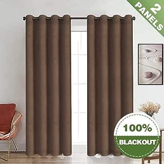 Best silk brown curtains Reviews