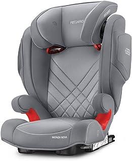 Recaro Monza Nova 2 Seatfix 6151.21503.66 Silla de Coche, Grupo 2/3, Gris Aluminio