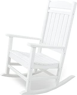 Ivy Terrace IVR100WH Classics Rocker Chair, White