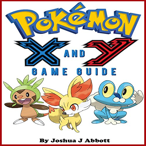 Pokemon X & Y Game Guide audiobook cover art
