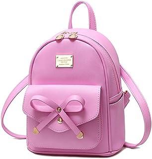 حقيبة ظهر جلدية صغيرة لطيفة للفتيات المراهقات من Mikty للنساء في سن المراهقة حقيبة ظهر عصرية صغيرة حقائب ظهر للمراهقات