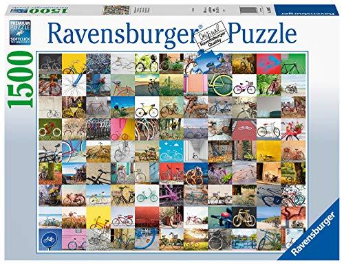 Ravensburger Puzzle 16007 - 99 Fahrräder und mehr - 1500 Teile Puzzle für Erwachsene und Kinder ab 14 Jahren