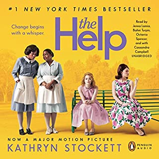 The Help                   By:                                                                                                                                 Kathryn Stockett                               Narrated by:                                                                                                                                 Jenna Lamia,                                                                                        Bahni Turpin,                                                                                        Octavia Spencer,                   and others                 Length: 18 hrs and 16 mins     38,199 ratings     Overall 4.8