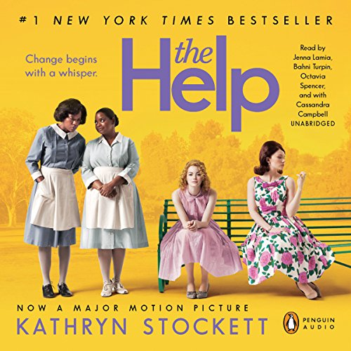 The Help                   By:                                                                                                                                 Kathryn Stockett                               Narrated by:                                                                                                                                 Jenna Lamia,                                                                                        Bahni Turpin,                                                                                        Octavia Spencer,                   and others                 Length: 18 hrs and 16 mins     38,585 ratings     Overall 4.8