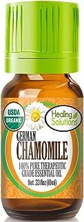 Organic Chamomile German Essential Oil (100% Pure - USDA Certified Organic) Best Therapeutic Grade Essential Oil - 10ml