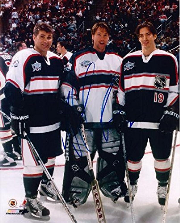 Patrick Roy Signed Photograph  8x10 HOFer  Autographed NHL Photos