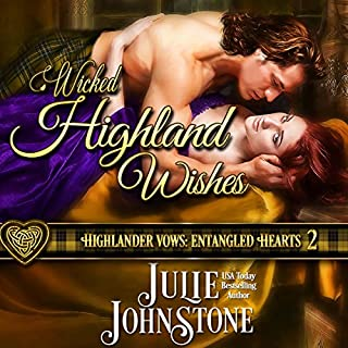 Wicked Highland Wishes audiobook cover art