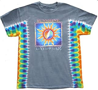 Grateful Dead Mens Sunshine Daydream Tie Dye T-Shirt