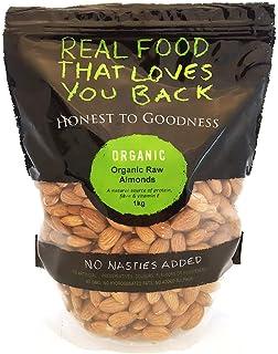 Honest to Goodness Organic Almonds Raw, 1 kg