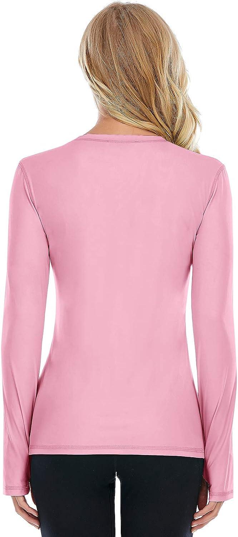 Cassiecy Damen Oberteile Elegant Langarm Rundhals Pullover Casual Langarmshirt Tops