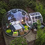 Bubble Tent, Outdoor Inflatable Family Camping Tent with Single Tunnel Used As Backyard Transparent Tent with Blower and Air Pump