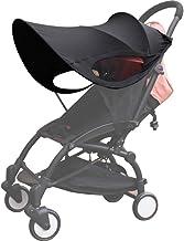 BAYINBROOK Universal Sonnenschirm, Sonnenverdeck, Sonnenschutz Markise Sonnensegel, Schatten Baldachin für Kinderwagen und Buggy Upgraded