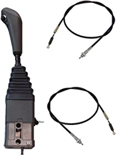 Loader Joystick 1081314M91 VFH1009 with Push Button + Cables for Massey Ferguson