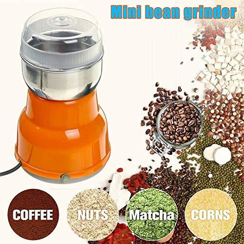 lzndeal Elektrische Kaffeemühle Mühle Bohnen Gewürz Nussschredder Hauptküche