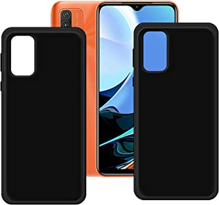FZZ Slim Thin 2 Pcs Black Case for Redmi Note 9 4G, Soft Protective Phone Cover With Flexible TPU Protection Bumper Shell ...