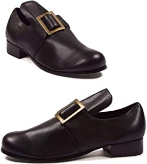 Ellie Shoes 1 Inch Heel Shoe with Buckle Men's Sizes