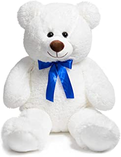 HollyHOME Teddy Bear Plush Giant Teddy Bears Stuffed Animals Teddy Bear Love 36 inch White