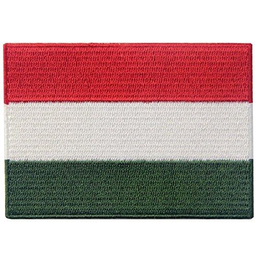 Ungarn Flagge Flicken Bestickter Aufnäher zum Aufbügeln/Annähen