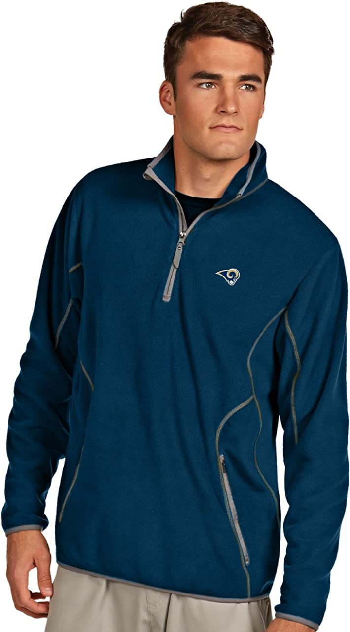 NFL St. Fashion Louis Rams overseas Men's Navy Ice Steel X-Large Pullover