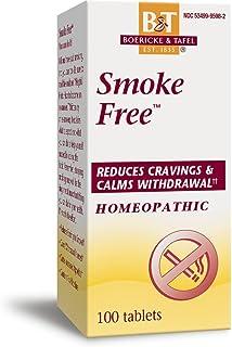 Boericke & Tafel Smoke Free, Naturally Reduces Cravings & Calms Withdrawal, 100 Count