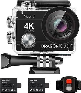 Dragon Touch 16MP Cámara de Acción Vision 3 Cámara de Vid