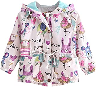 lymanchi Baby Girl's Coats Fall Winter Jacket Ears Hood Hoodie Toddler Outerwear