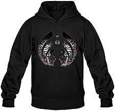 TMILLER Men's Bassnectar Divergent Spectrum Symbol Hoodied Sweatshirt