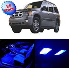 SCITOO 11Pcs Blue Interior LED Light Package Kit Replacement Bulbs Fits for 2003 2004 2005 2006 2007 Isuzu Ascender