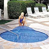 In The Swim 6 x 6 Foot Spa and Hot Tub Solar Blanket Cover 15 Mil