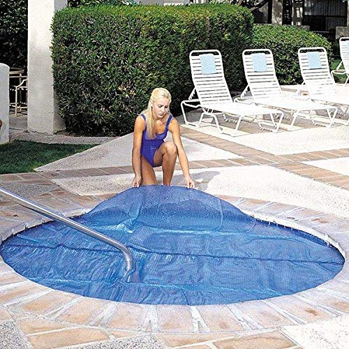 In The Swim 11 x 11 Foot Spa and Hot Tub Solar Blanket Cover 15...