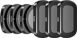 Skyreat Camera Lens ND Filters Set 6 Pack-(ND4, ND8, ND16, ND4PL, ND8PL, ND16PL) Compatible with DJI Osmo Pocket, Pocket 2...
