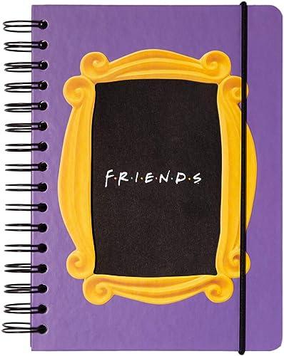 Erik® Bullet Journal Pointillé Friends | Carnet de Notes A5 | Notebook | Bullet Agenda | Carnet Spirale