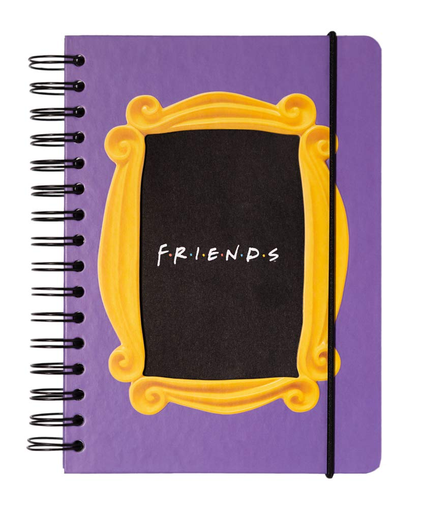 Erik® Carnet | Bullet Journal | Notebook Friends, A5, Couverture Rigide, Spiralé