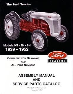 bishko automotive literature 1939 1950 1951 1952 Ford Tractor 9N 2N 8N Parts Numbers Book Manual Factory