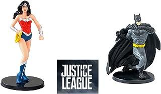 Justice League 2017 Wonder Woman and Batman PVC Figurines 2.75